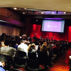 Photo taken at NYU Eisner and Lubin Auditorium by Annie P. on 10/26/2014