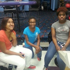 Photo taken at AMF All Star Lanes-Greensboro by ItsJust C. on 11/23/2012