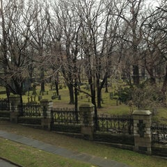 Photo taken at Trinity Church Cemetery & Mausoleum by Peggy M. on 1/12/2013