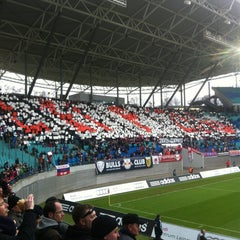 Photo taken at Red Bull Arena by Torsten O. on 12/2/2012