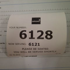 Photo taken at Celcom Ipoh Branch by Mohd M. on 10/22/2012