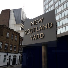 Photo taken at New Scotland Yard by Susan B. on 5/27/2013