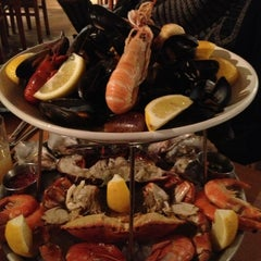 Photo taken at Loch Fyne Restaurant by Christine H. on 3/13/2013