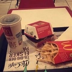 Photo taken at McDonald's by Kristaps E. on 1/10/2016
