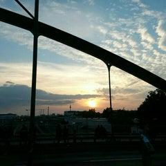 Photo taken at Modersohnbrücke by rokr on 6/21/2015