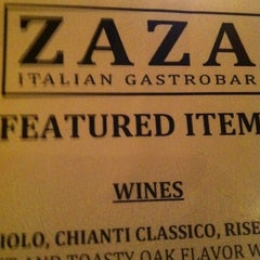 Photo taken at ZAZA Italian Gastrobar & Pizzeria by Jason E. on 3/24/2013
