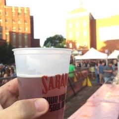 Photo taken at Saranac Brewery (F.X. Matt Brewing Co.) by Doug K. on 6/20/2015