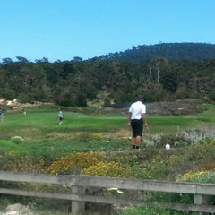 Photo taken at Spanish Bay Golf Course by Howie R. on 7/8/2013