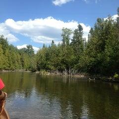 Photo taken at Au Sable River by Lynn D. on 8/16/2013