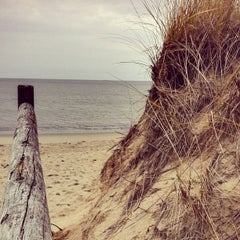 Photo taken at Ferry Beach State Park by Allison C. on 11/11/2012