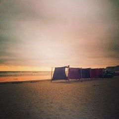 Photo taken at Playa de Canoa by Ayngelina B. on 7/18/2013