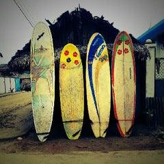 Photo taken at Playa de Canoa by Ayngelina B. on 6/29/2013