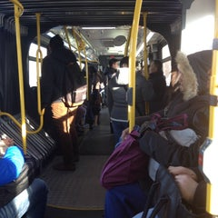 Photo taken at MTA Bus - Q44 by Carlos C. on 2/6/2015