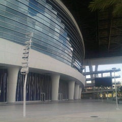 Photo taken at Marlins Park by Julio N. on 7/4/2013