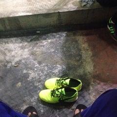 Photo taken at Galaxy Futsal Bangi by Faiz M. on 8/30/2015