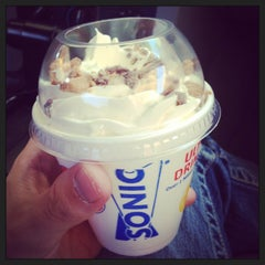 Photo taken at SONIC Drive In by Reese P. on 4/12/2013