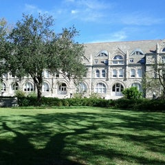 Photo taken at Tulane University by Joe G. on 10/21/2012
