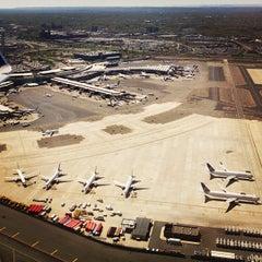 Photo taken at Newark Liberty International Airport (EWR) by Christine ✈. on 7/28/2013