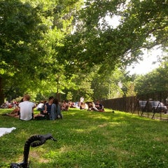 Photo taken at McCarren Park by Ameet P. on 6/17/2013