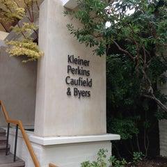 Photo taken at Kleiner Perkins Caufield & Byers by Shiv K. on 10/19/2012