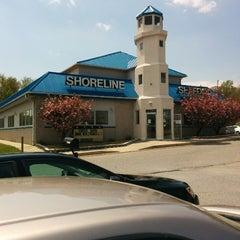 Photo taken at Shoreline Seafood by Yinka M. on 4/26/2014