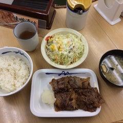 Photo taken at 松屋 高田馬場店 by Makoto I. on 1/23/2014