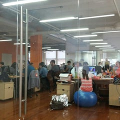 Photo taken at Likeable Media by Juan S. on 8/11/2014