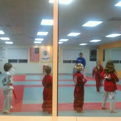 Photo taken at Lee's Traditional Tae Kwon Do by Frank P. on 12/11/2012