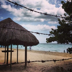 Photo taken at Country Country Beach Cottages Negril by Mike R. on 7/18/2013