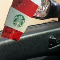 Photo taken at Starbucks by HoneyRosila A. on 1/28/2014