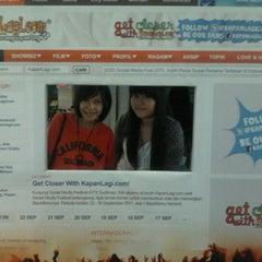 Photo taken at Indonesia Social Media Festival 2011 (SocMedFest) by RAHMA ✌ on 9/23/2011