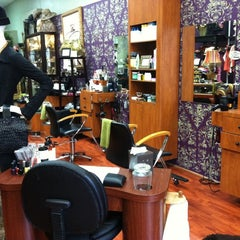 Photo taken at Aspire Hair Salon by Deborah S. on 9/23/2011