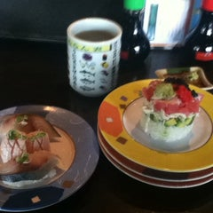 Photo taken at Sushiville by HilAry C. on 6/7/2012