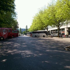 Photo taken at Bus Parkplatz by Lapis Z. on 5/30/2012