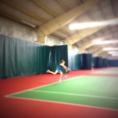 Photo taken at Amy Yee Tennis Center by Casey C. on 4/5/2013