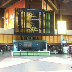 Photo taken at South Station Food Court by Alex C. on 2/6/2013