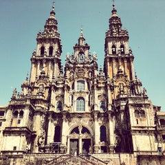 Photo taken at Catedral de Santiago de Compostela by Ayhan H. on 6/28/2013