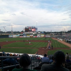 Photo taken at Principal Park by CeeJay L. on 7/26/2013