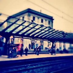 Photo taken at Bahnhof Zürich Stadelhofen by Donat D. on 10/22/2012