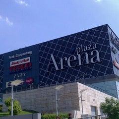 Photo taken at Arena Plaza by Nikol N. on 5/10/2013