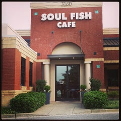 Photo taken at Soul Fish Cafe by Ms. Ally on 6/30/2013