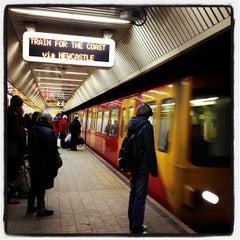 Photo taken at Haymarket Metro Station by Uri H. on 12/6/2012