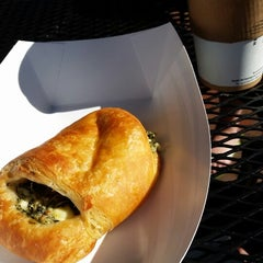 Photo taken at Vie De France Bakery & Cafe by Ken G. on 10/26/2014