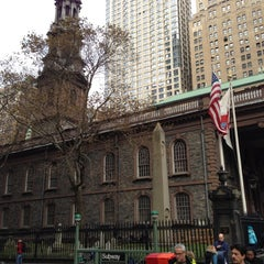 Photo taken at St. Paul's Chapel by Michael L. on 11/19/2012