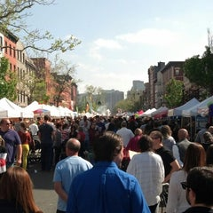 Photo taken at Hoboken Music And Arts Festival by Chris B. on 5/5/2013