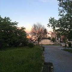 Photo taken at Parcul Eroilor by Razvan N. on 5/17/2014