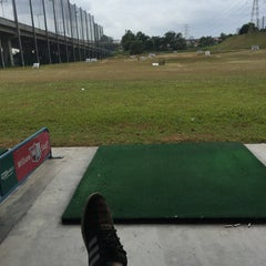 Photo taken at Pelangi Public Golf Driving Range by Aimin S. on 2/6/2015
