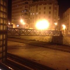 Photo taken at Puente de los Alemanes by Abraham N. on 3/27/2014