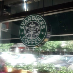 Photo taken at Starbucks by Tom A. on 9/25/2012