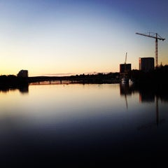 Photo taken at Kyrkbron by Jonny S. on 10/27/2012